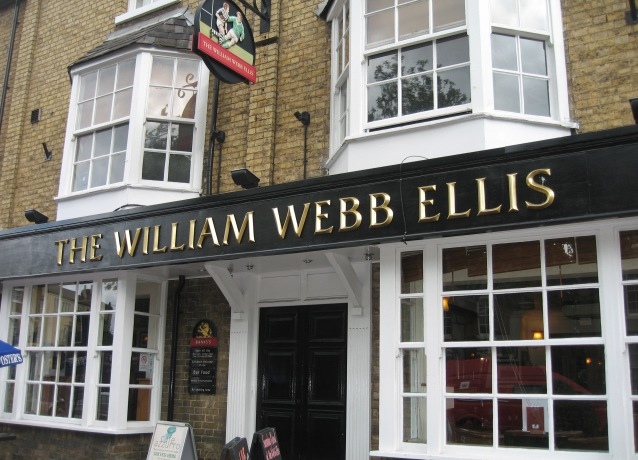 William Webb Ellis Pub in Rugby